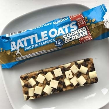 "Barre à l'avoine protéinée "" Battle Oats "" - Battle Snacks"