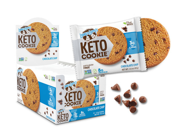 Keto cookie vegan - Lenny and Larry