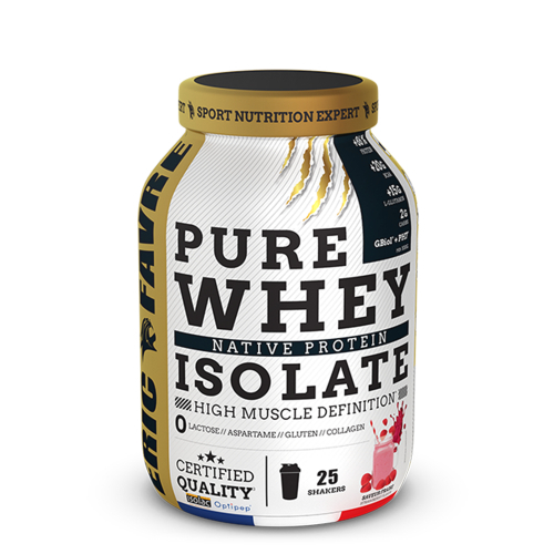 Pure Whey Native 100% Isolate - Eric Favre