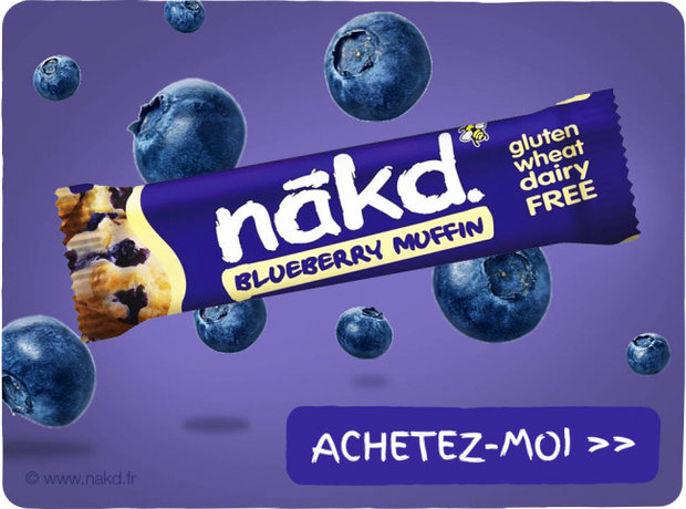 Barre Vegan - Nakd
