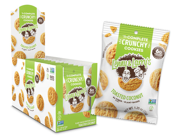 Complete CRUNCHY cookie - Lenny and Larry